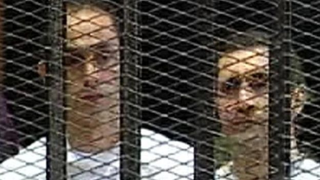 """القبض على جمال وعلاء مبارك في قضية """"التلاعب بالبورصة"""