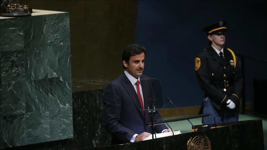 أمير قطر: الحصار أضر بسمعة مجلس التعاون الخليجي