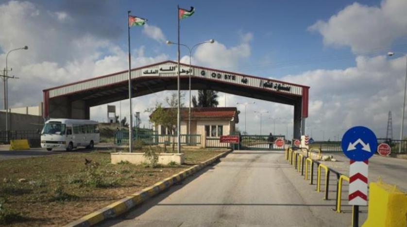 افتتاح معبر نصيب بين سوريا والأردن في العاشر من اكتوبر