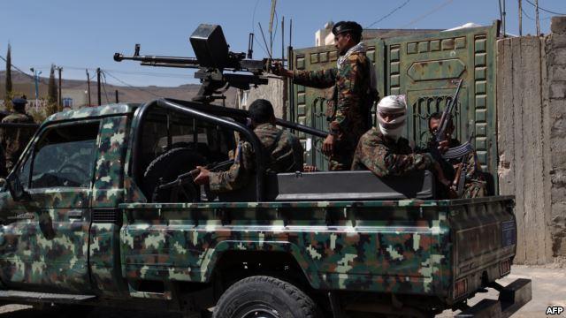 مقتل 9 مسلحين من الحوثيين بنيران الجيش الحكومي وسط اليمن