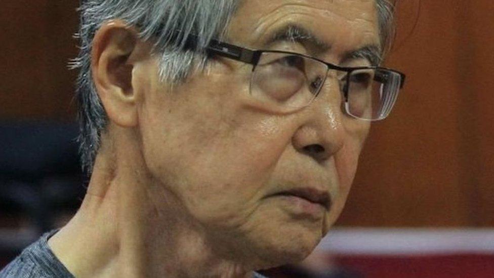 رئيس بيرو السابق فوجيموري يناشد مسؤولي بلاده عدم قتله