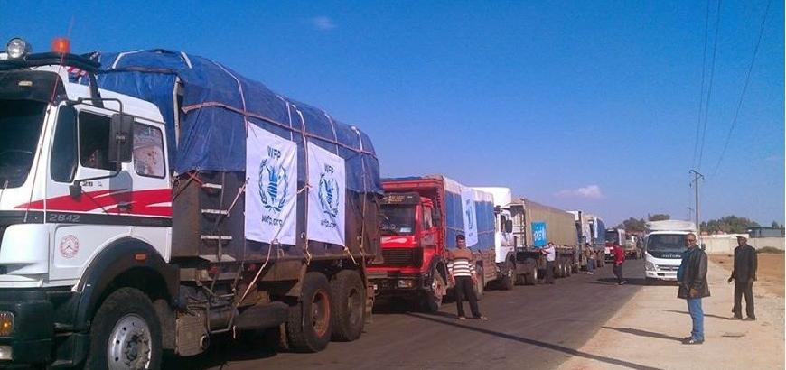 المساعدات الامميه  لسورية