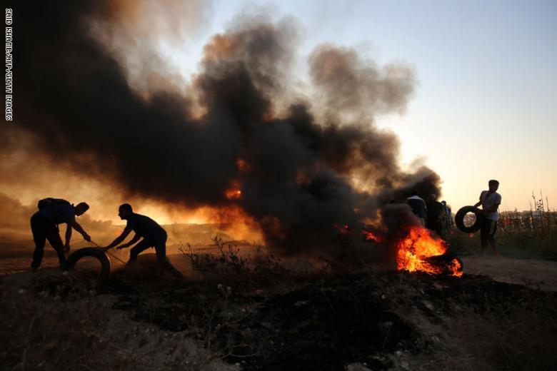 7 شهداء و252 إصابة جراء قمع الاحتلال للمسيرات في غزة