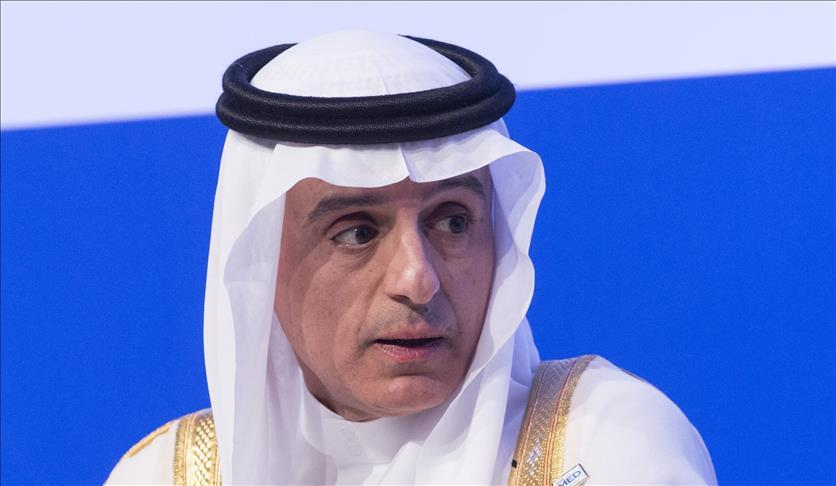 الجبير: تركيا دولة صديقة والتنسيق العسكري مع قطر لم يتأثر
