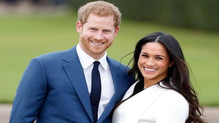 الأمير هاري وزوجته