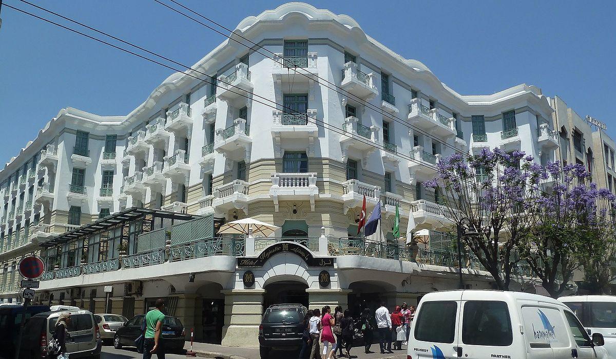"""فندق """"الماجيستك"""" في تونس"""
