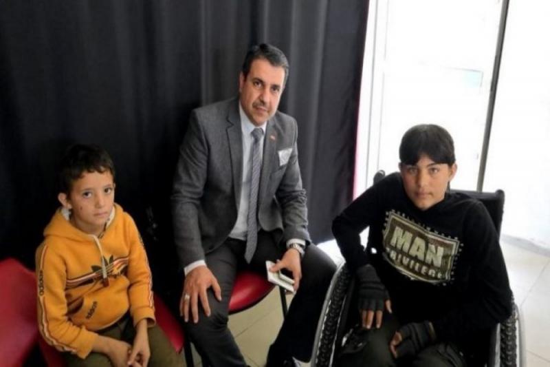 عودة طفلين عراقيين تركتهما أمهما لاجِئين بأحد المخيمات السورية