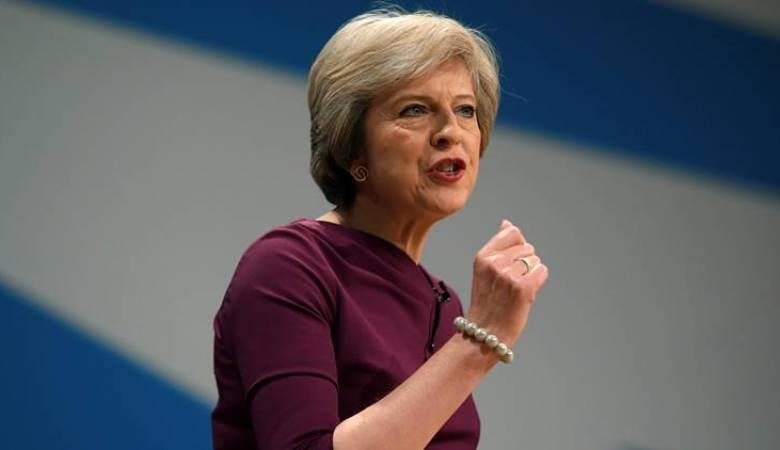ماي تحذر: بريطانيا تواجه خطر عدم الخروج من الاتحاد الأوروبي