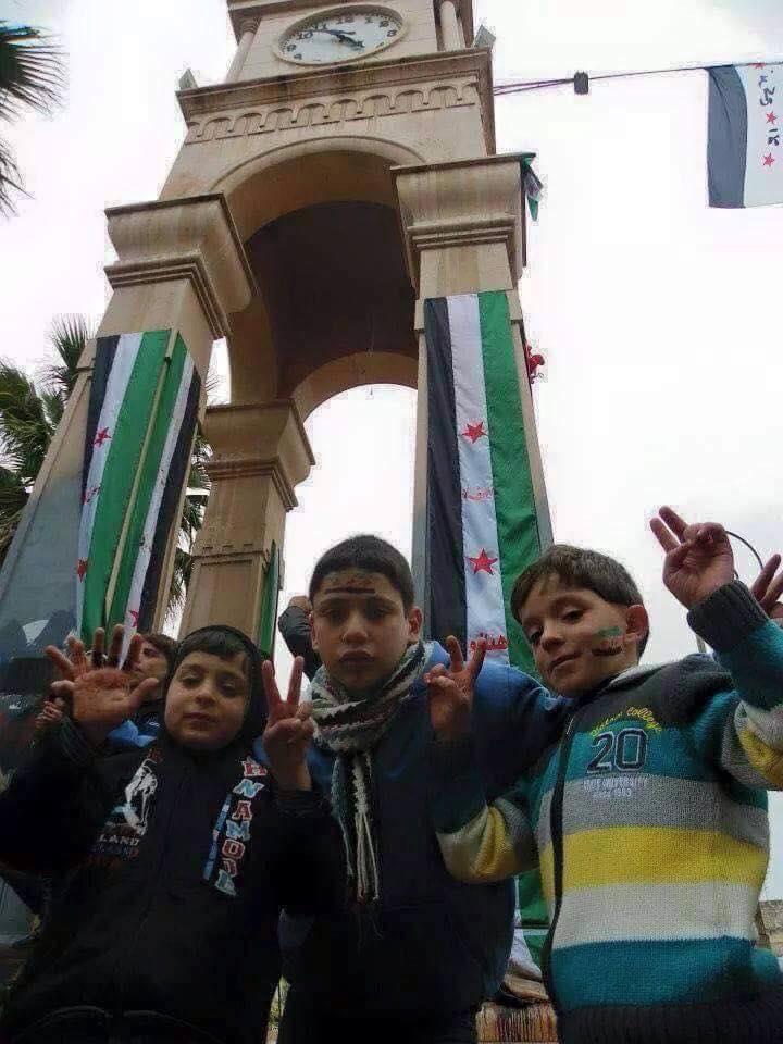 """وقفة احتجاجية في مدينة ادلب  ضد ممارسات حكومة """"الإنقاذ"""""""