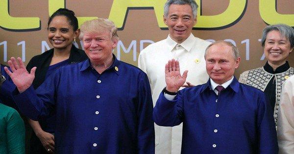 """روسيا""""تعتقد""""عقد اجتماع بين ترامب وبوتين على هامش قمة العشرين"""
