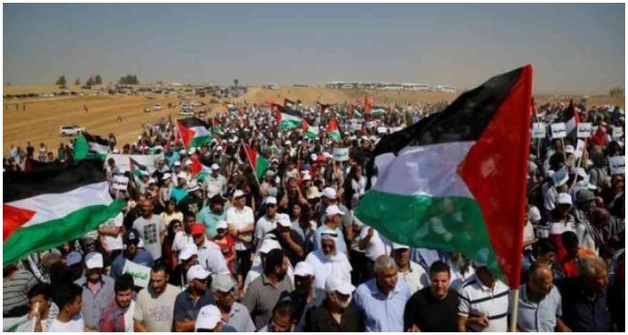 مواجهات بين الفلسطينيين والجيش الإسرائيلي شرق غزة