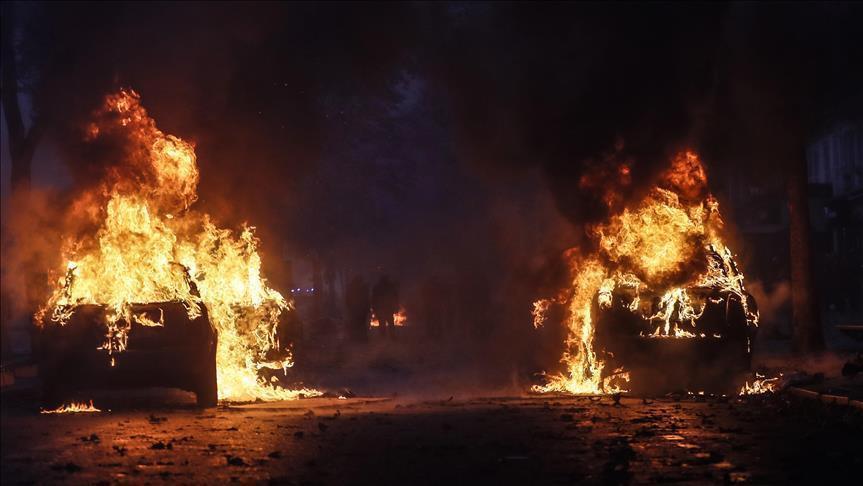 الإعلام أوروبي عن الاحتجاجات:باريس تحترق بحرب عصابات