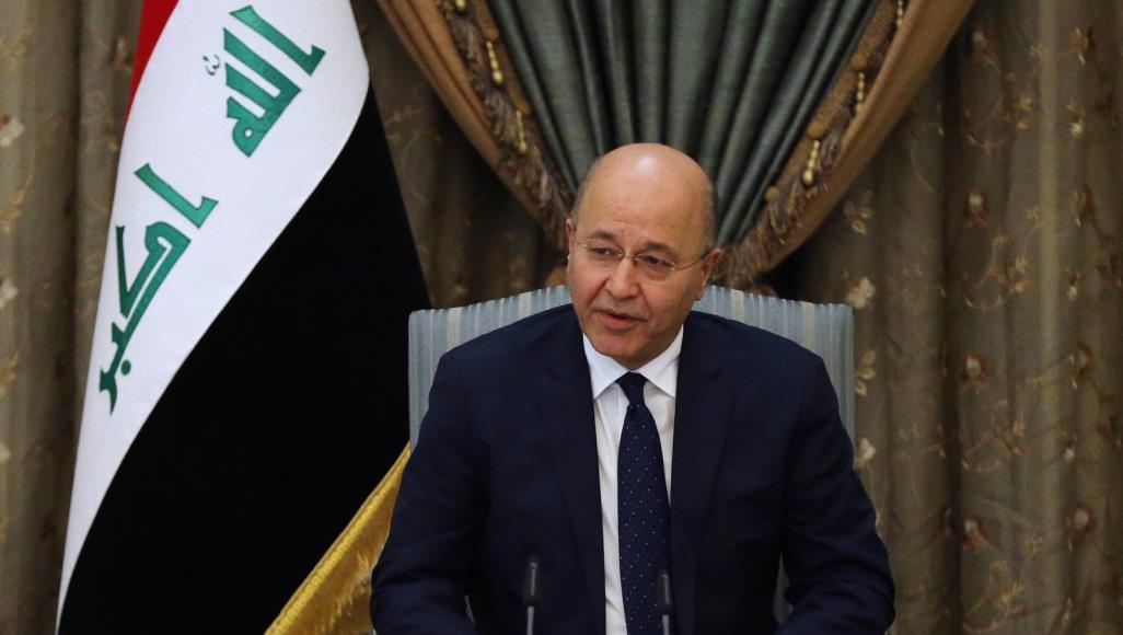 الرئيس العراقي يشير إلى حاجة سورية لتسوية سياسية لإنهاء العنف