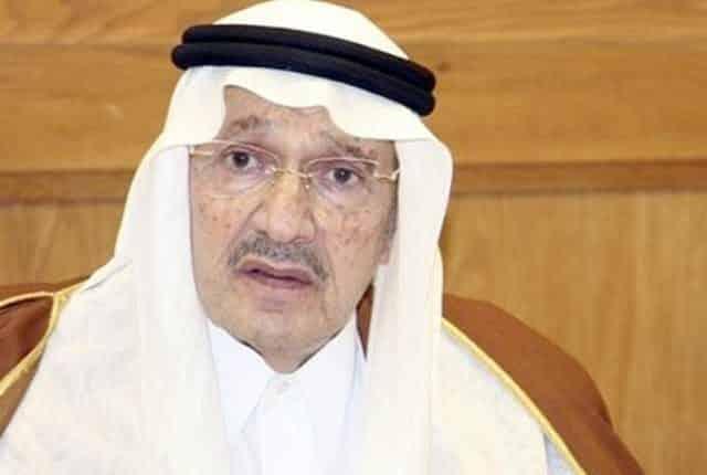 وفاة الأمير طلال بن عبد العزيز الأخ الأكبر للعاهل السعودي