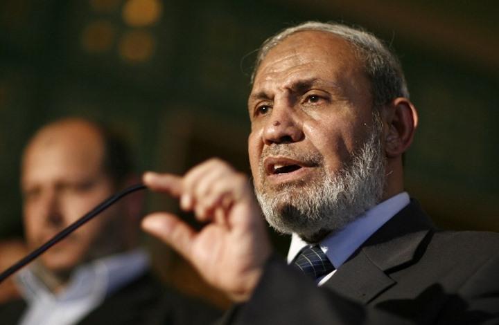 """القيادي في حماس الزهار:إيران هي الداعم الحقيقي"""" لفلسطين"""