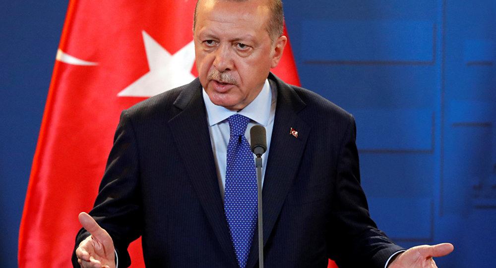 """أردوغان: النظام السوري يقوم بـ """"عملية نفسية"""" في منبج"""