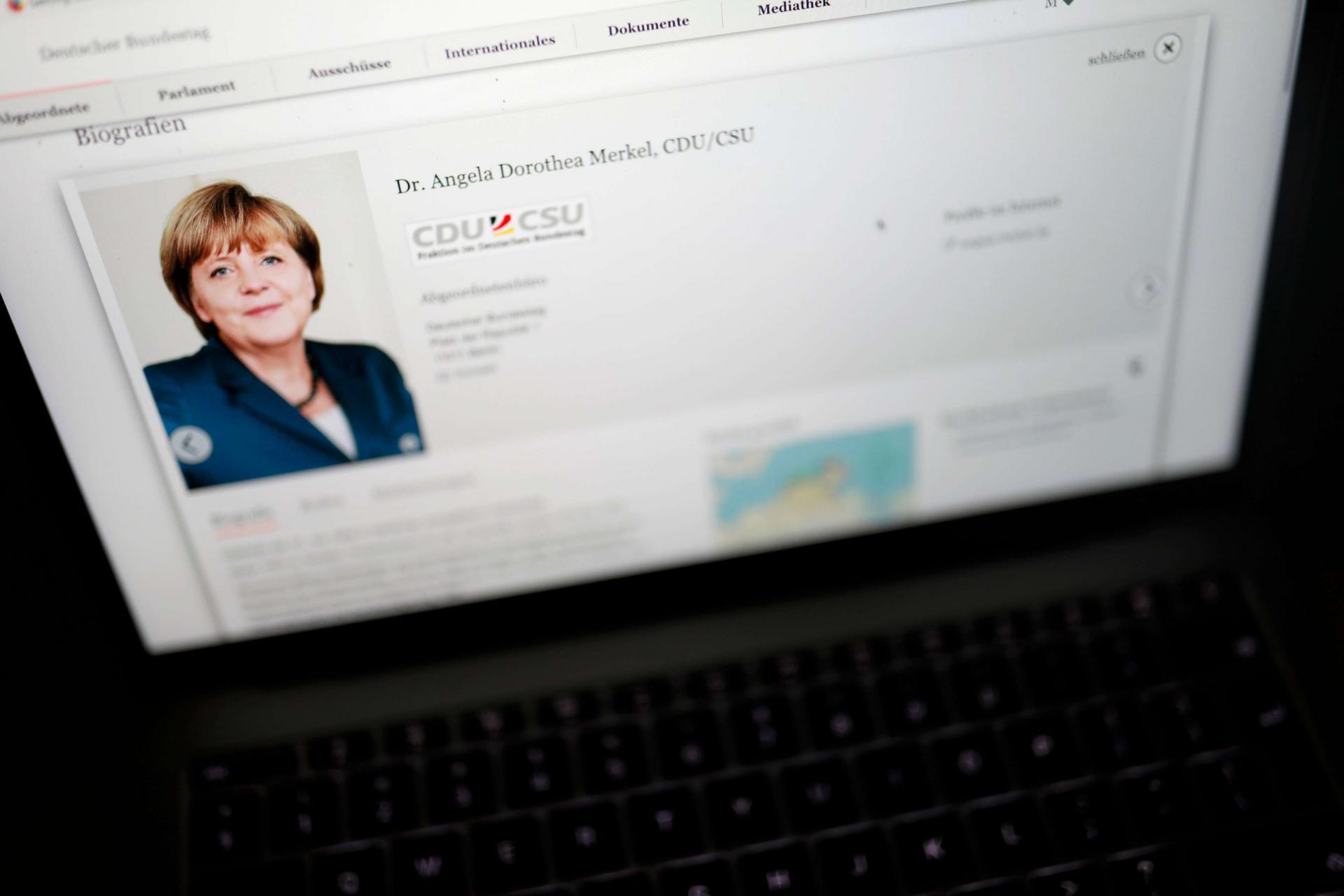 تسريب بيانات أعضاء البرلمان الألماني