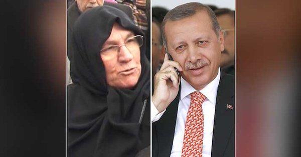 أردوغان لامرأة مسنة: لقد أبكيت تركيا كلها وسوف أزورك قريباً