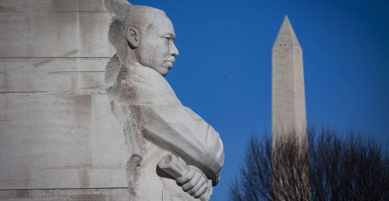ترامب يزورالنصب التذكاري لمارتن لوثر كينج