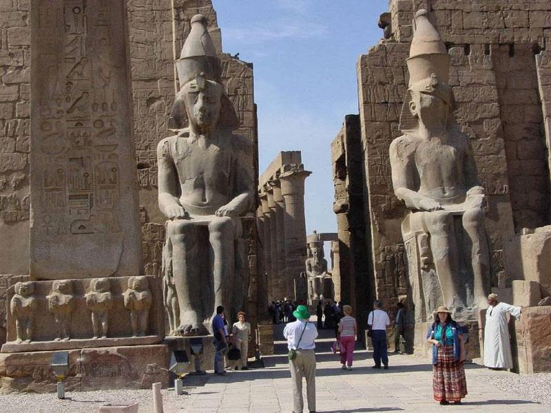 افتتاح معبد الأوبت الفرعونى جنوبي مصر لأول مرة أمام السياح