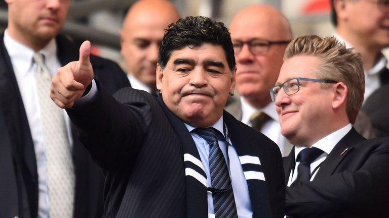 مارادونا يغيب عن العرض الأول لفيلمه الوثائقي في مهرجان كان