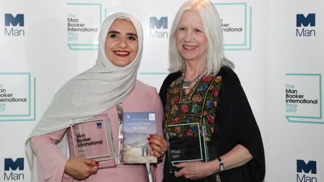 روائيةعمانية تفوز بجائزة انترناشيونال مان بوكر البريطانية المرموقة