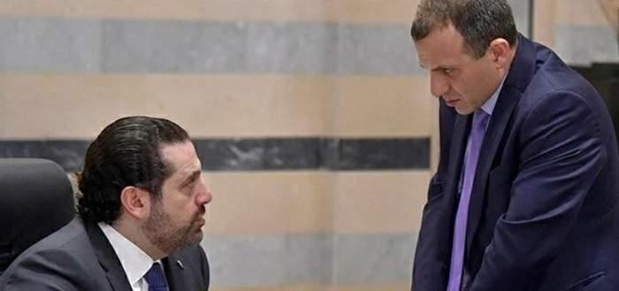 حرب تصريحات بين الحريري وباسيل عن السنية السياسية والمارونية