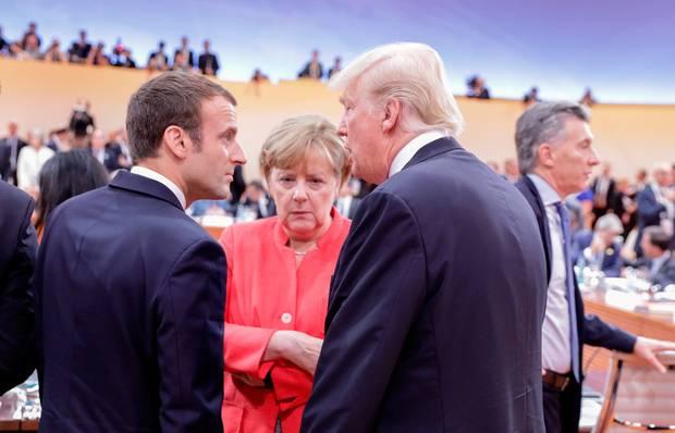 ماكرون : كنت سأدعم ميركل إذا أرادت الترشح لرئاسة اوروبا
