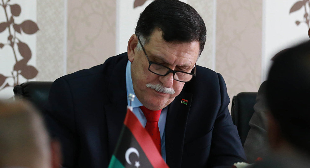 السراج يطرح مبادرة لحل الأزمة الليبية من خلال ملتقى شامل
