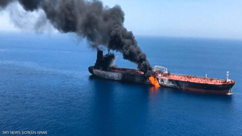 إيران وأمريكا تتبادلان الاتهامات بقضية ناقلتي النفط في خليج عمان