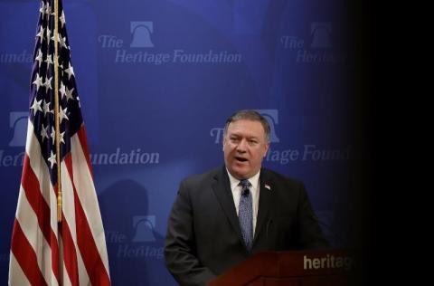 بومبيو: الرئيس لا يريد حربا مع إيران ولكن ردعها