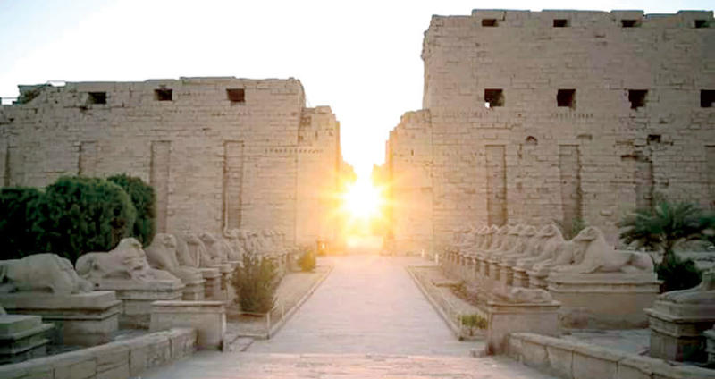 معبد امون بالكرنك