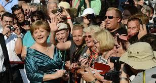 انطلاق مهرجان موسيقى فاجنر جنوبي ألمانيا بحضور ميركل