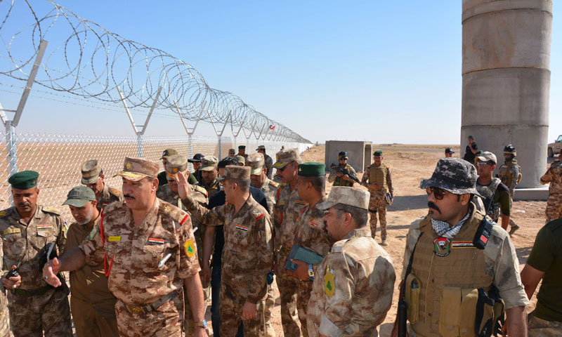 العراق يبدأ بتثبيت كاميرات لمراقبة المسلحين على الحدود مع سورية