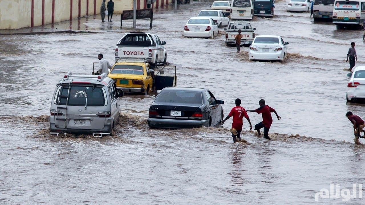 وفاة 46 وإصابة 97 جراء الأمطار والسيول فى السودان