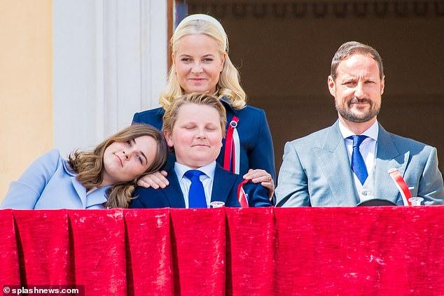 الاسره الملكيه في النرويج