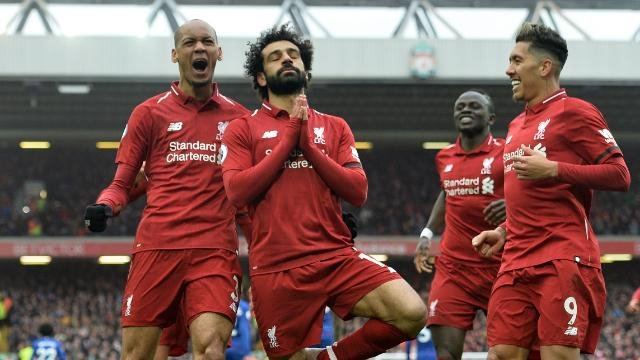 ليفربول يستعيد صدارة الدوري الإنجليزي بفوزه على بيرنلي