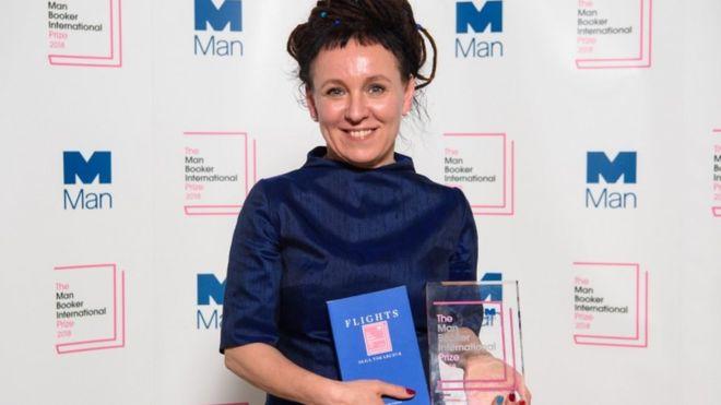 أولغا توكارتشوك الفائزة بجائزة نوبل للآداب لعام 2018
