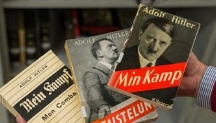 """كتاب """"كفاحي"""" لهتلر بحوزة جندي ألماني متهم بصلته بالإرهاب"""