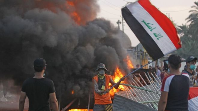 اشتباكات في بغداد تسفر عن سقوط وقتلى و جرحى