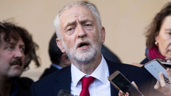 """كوربين """" الخاسر """" يعتزم التنحي عن رئاسة حزب العمال"""