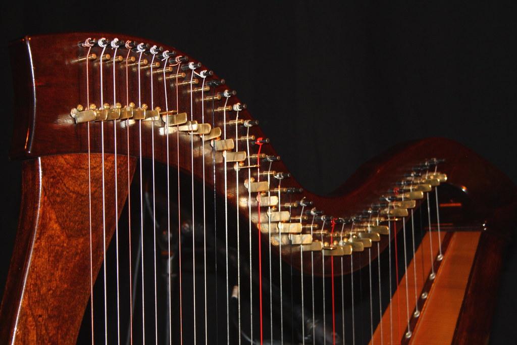 القيثارة الأيرلندية على قائمة التراث الثقافي غير المادي لليونسكو
