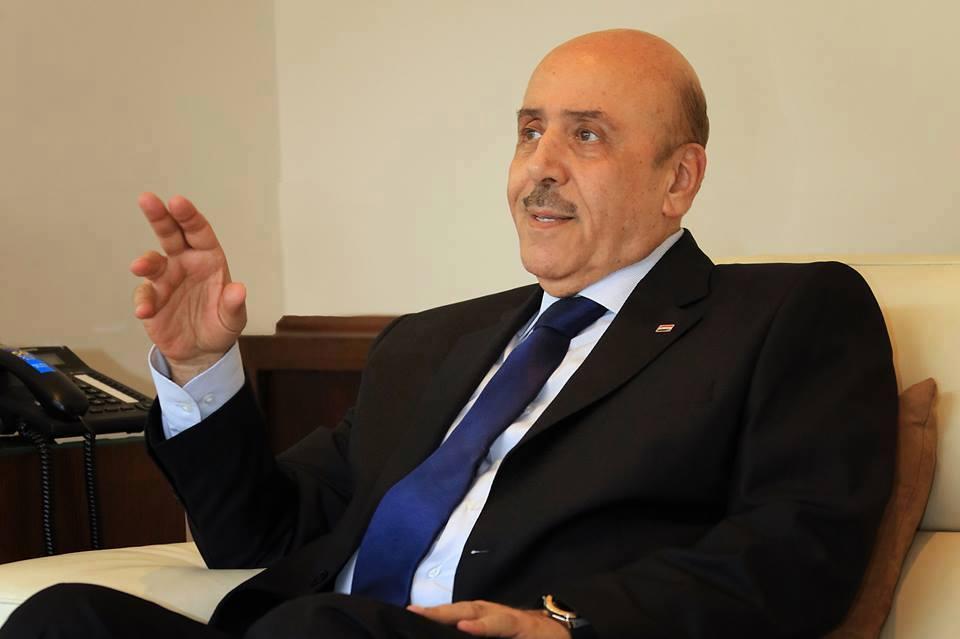 علي مملوك ممثل الجانب السوري في الاجتماع