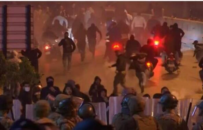 لبنان ...إصابة 47 وتوقيف 59 مشتبها بأعمال شغب ليلية
