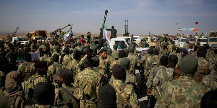 مقتل 5 عناصر من الجيش الوطني السوري بانفجار ببلدة سلوك