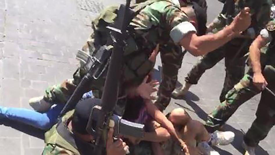 الشرطة اللبنانية تدافع عن استخدام الرصاص المطاطي ضد المحتجين