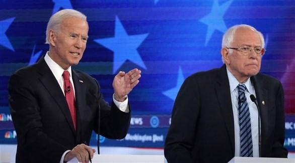 استطلاع: احتدام المنافسة بين بايدن وساندرز على نيل ترشيح الحزب الديمقراطي