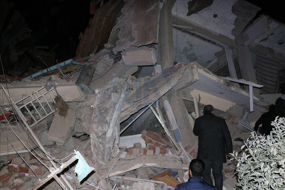 هزة أرضية جديدة تضرب شرقي تركيا بعد أخرى خلفت  21 قتيلا