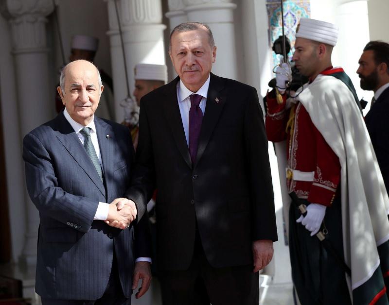 اردوغان يحرج تبون والخارجية الجزائرية تدافع عن تاريخ الجزائر