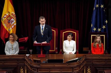 خمسة أحزاب إسبانية تقاطع خطاب الملك بافتتاح البرلمان